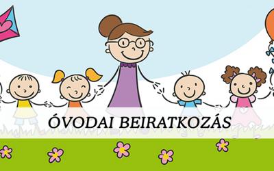Óvodai beiratkozás 2021/2022 nevelési évre