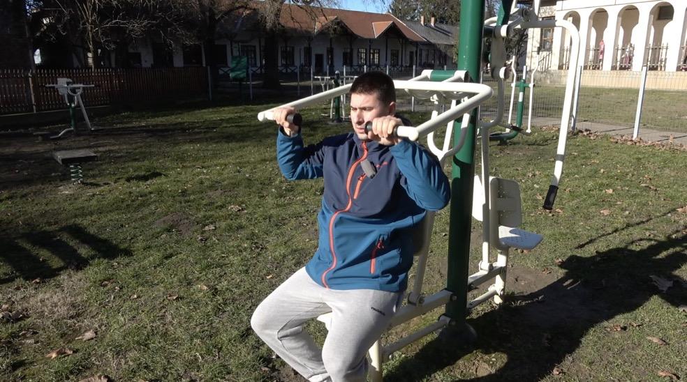 Tiszasas Kültéri Fitnesz Park